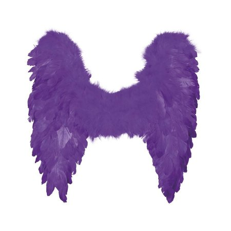 Engelen Vleugels Paars 50cm