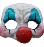 Halloween Masker Clown Deluxe half
