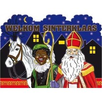 Sinterklaas Deurbord 48cm