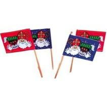 Sinterklaas Vlagprikkers 50 stuks