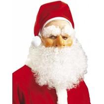 Kerstman Masker met kerstmuts