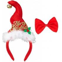 Kerst Diadeem en Strikje