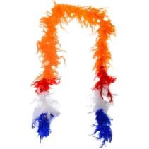 Oranje Boa Rood Wit Blauw 1,8 meter