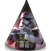 Star Wars The Force Awakens Hoedjes 6 stuks