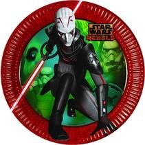Star Wars Rebels Borden 23cm 8 stuks