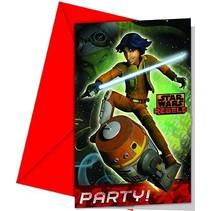 Star Wars Rebels Uitnodigingen 6 stuks