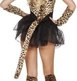 Cheetah Jurkje met staart
