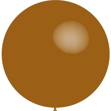 Bruine Reuze Ballon 60cm