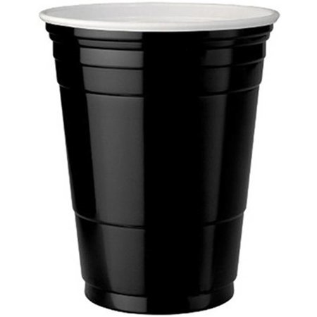 Black Cups 473ml 25 stuks