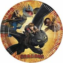Dragons Borden 23cm 8 stuks