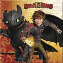 Dragons Servetten 20 stuks