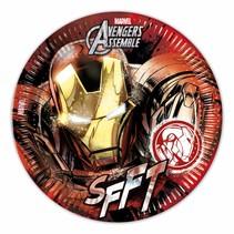Avengers Borden Iron Man 23cm 8 stuks