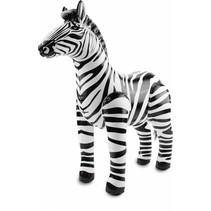 Opblaas Zebra 60cm