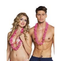 Hawaii Kransen Set Roze 25 stuks