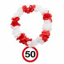 Hawaii Krans 50 Jaar Verkeersbord