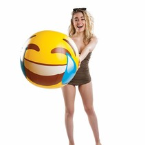 Opblaasbare Strandbal Emoji 46cm
