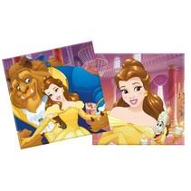 Belle en het Beest Servetten 20 stuks