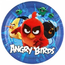 Angry Birds Borden 23cm 8 stuks