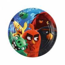 Angry Birds Gebaksbordjes 18cm 8 stuks