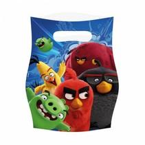Angry Birds Uitdeelzakjes 8 stuks