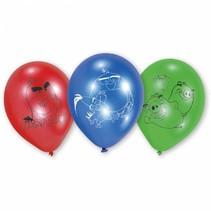 Angry Birds Ballonnen 23cm 6 stuks