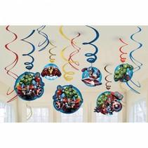Avengers Hangdecoratie 12 stuks
