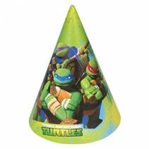 Ninja Turtles Hoedjes 8 stuks