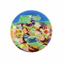 Ninja Turtles Gebaksbordjes Half Shell Heroes 18cm 8 stuks