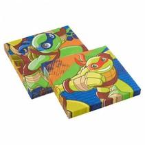 Ninja Turtles Servetten Half Shell Heroes 20 stuks