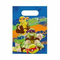 Ninja Turtles Uitdeelzakjes Half Shell Heroes 8 stuks
