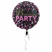 Helium Ballon Vrijgezellenfeest 43cm leeg