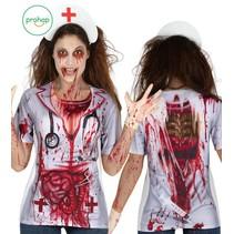 Halloween Shirt Dames M/L