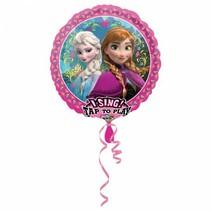 Frozen Helium Ballon met geluid 71cm leeg