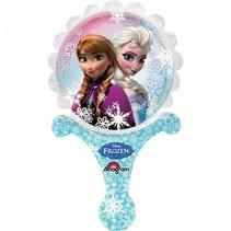 Frozen Ballon met handvat 35x21cm