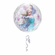 Frozen Helium Ballon Doorzichtig 40cm