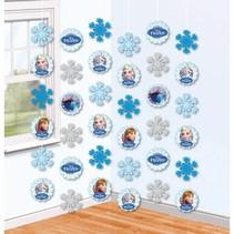 Frozen Hangdecoratie Sneeuw 200cm 3 stuks