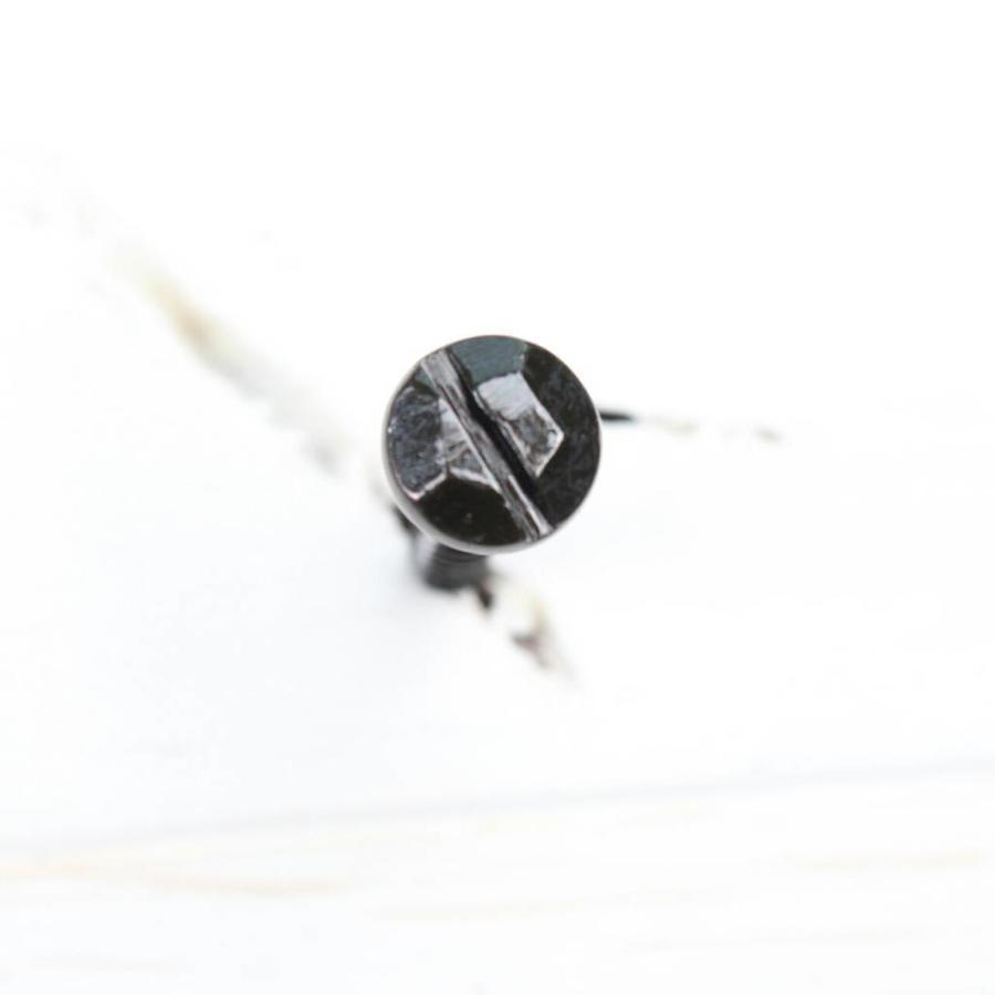 Zwarte sierschroef 4,5 x 30mm