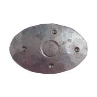 Siernagel 40 x 25 x 35mm - ovale kop