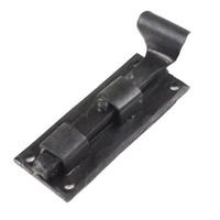 Smeedijzeren deurgrendel visstaart recht 90mm