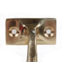 Trapleuninghouder 68mm - messing gepolijst