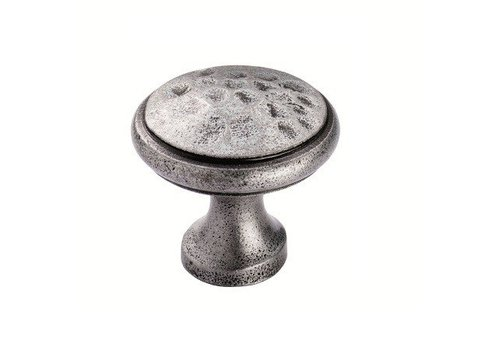 Fingertip Designs Kastdeurknop 40mm - pewter finish