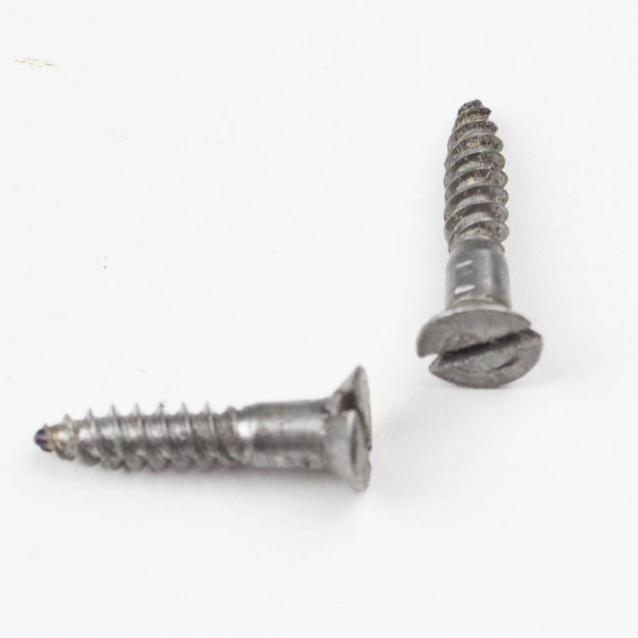 Gietijzeren sleutelrozet ovaal met afdekplaat - blank