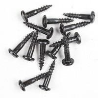 Zwarte sierschroef 3 x 16mm - doos