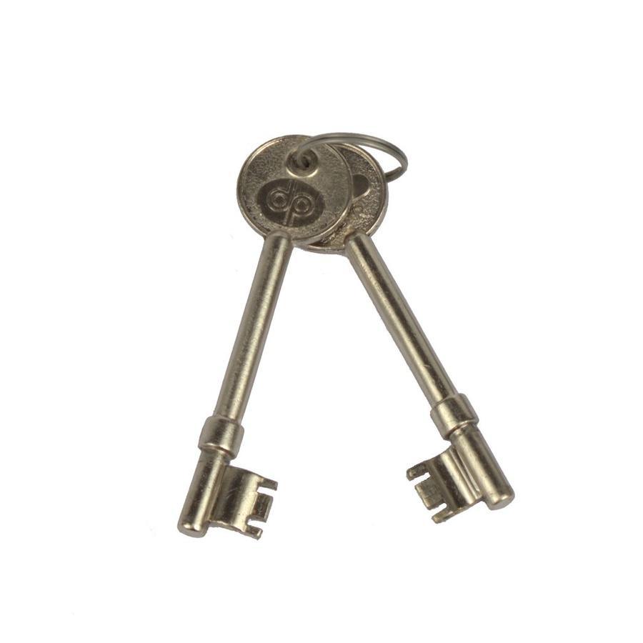 Deurslot met sleutels