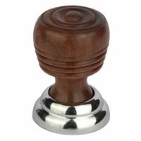 Houten meubelknop bruin