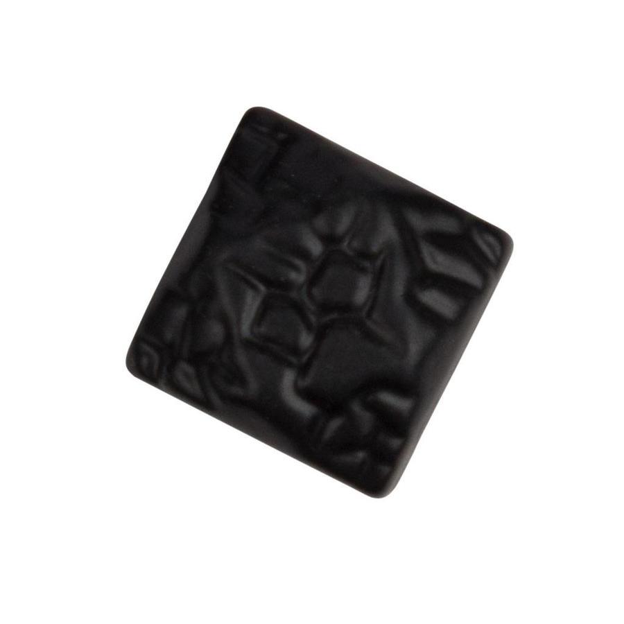 Siernagel 19 x 19mm - zwart gelakt - hamerslag