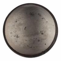 Gietijzeren kastdeurknop 45mm - blank gelakt