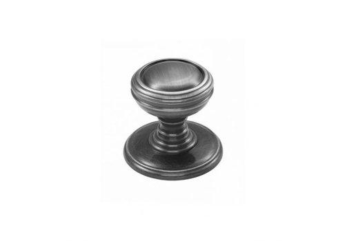 Fingertip Kastdeurknop 25mm - antiek zwart