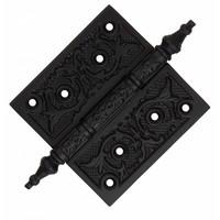 Bladscharnier ijzer zwart 102 x 102mm