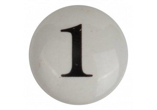 Meubelknop nummer 1